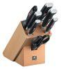 Набор кухонных ножей Twin Four Star II, 7 предметов в подставке, Zwilling J.A. Henckels, Германия